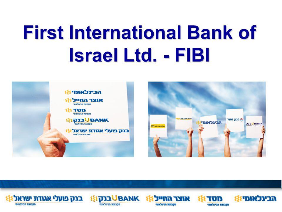First International Bank of Israel Ltd. - FIBI