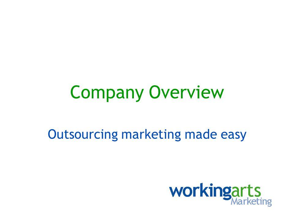Why choose workingarts.
