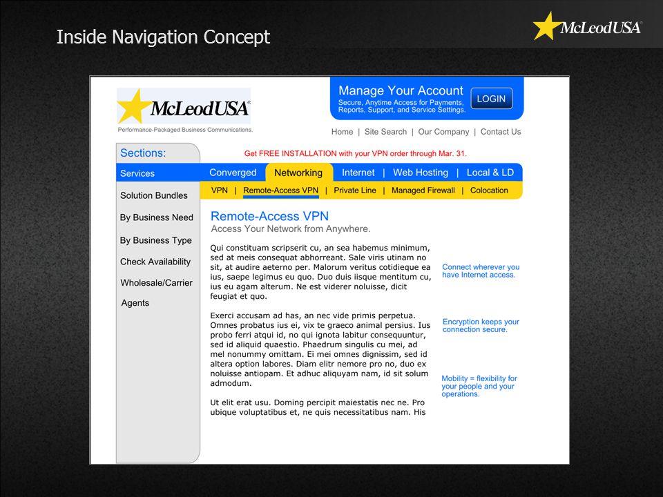 Inside Navigation Concept