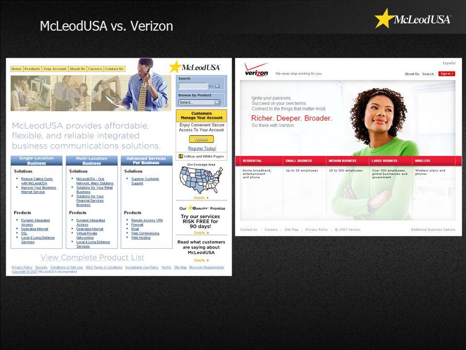McLeodUSA vs. Verizon