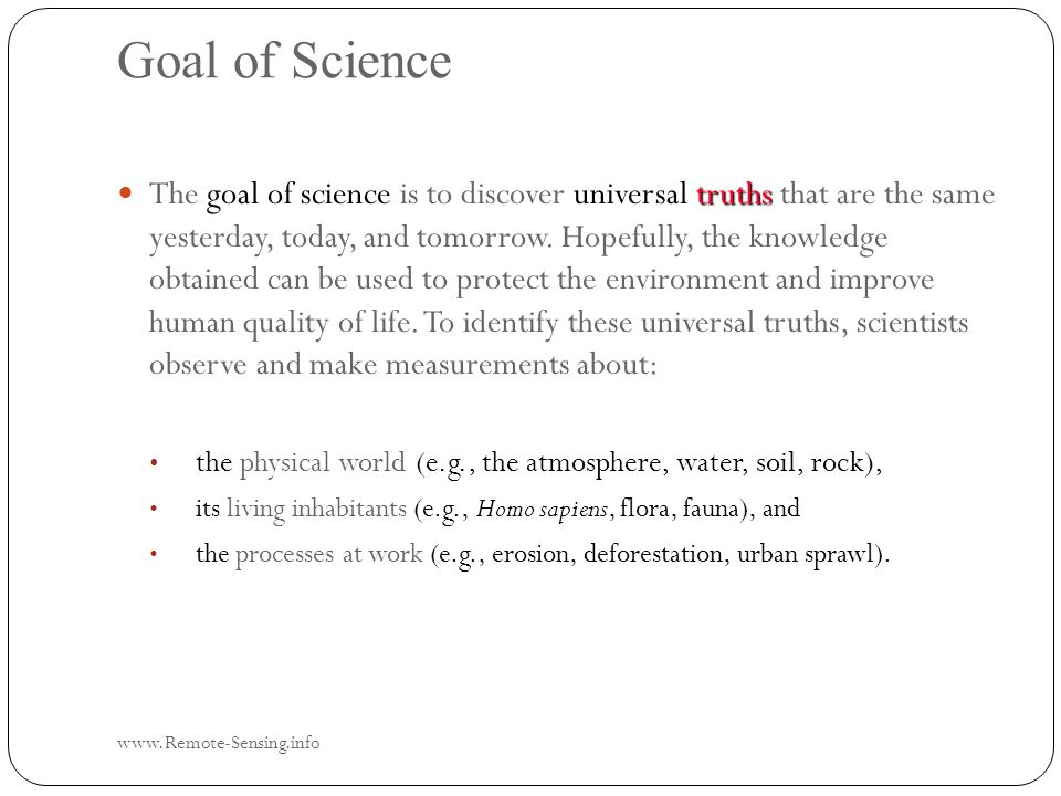 In Situ Data Collection Scientists formulate hypotheses and then attempt to accept or reject them in a systematic, unbiased fashion.