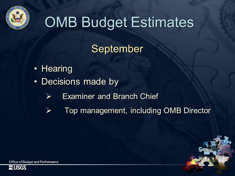Office of Budget and Performance Continuing Resolutions What happens if an appropriations bill does not become law before October 1 (the beginning of the fiscal year)?