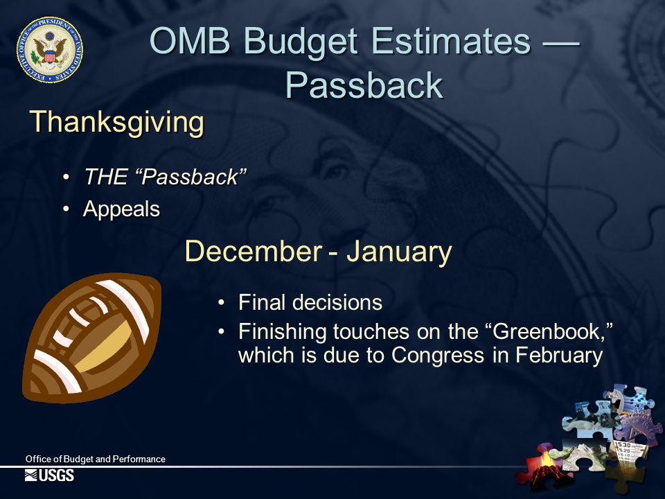 Office of Budget and Performance Continuing Resolutions A Continuing Resolution (CR) allows government to continue operating with certain limitations (such as timeframe and spending rate).