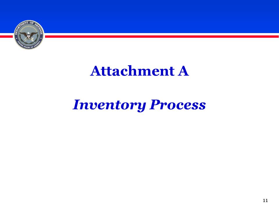 Attachment A Inventory Process 11