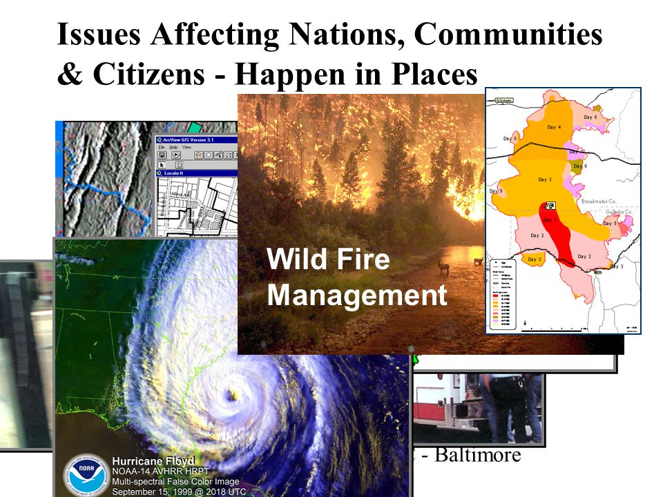 Population Growth Washington, DC - Baltimore Issues Affecting Nations, Communities & Citizens - Happen in Places Emergency Response Wild Fire Management
