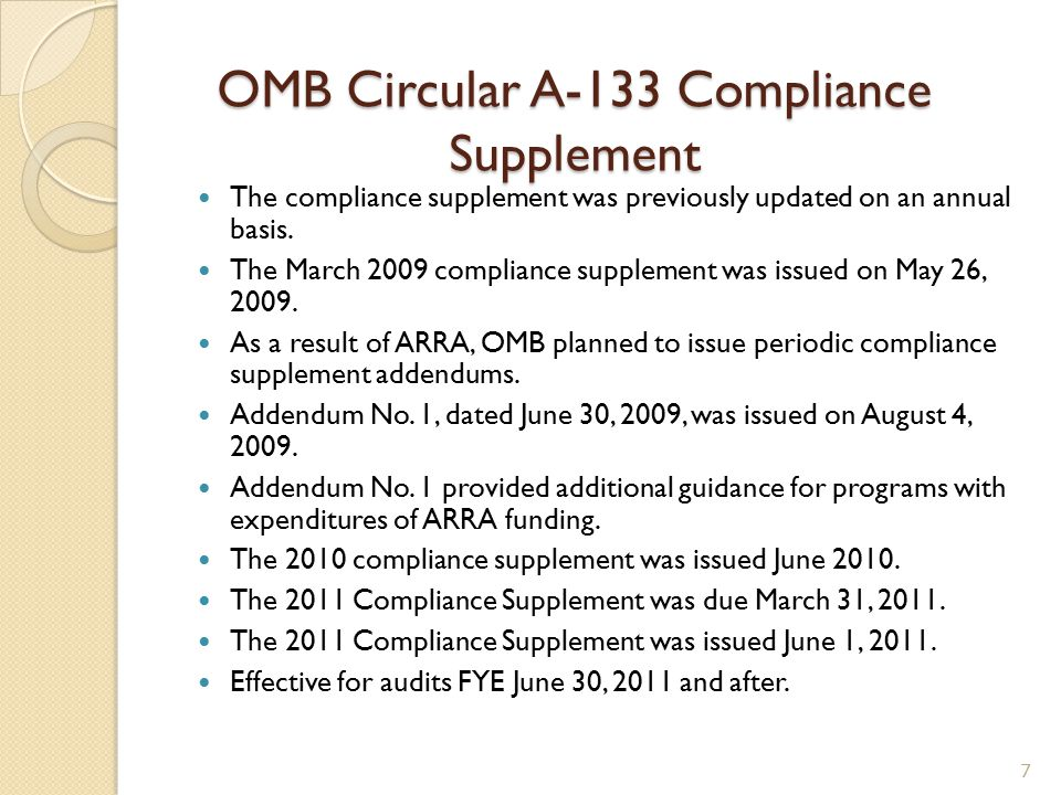 ARRA Impact on the Single Audit Documentation and testing of internal controls over ARRA and Non-ARRA funded programs.