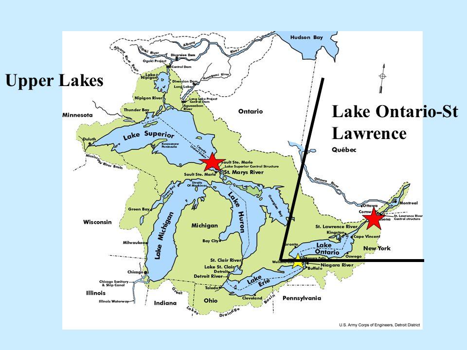 Upper Lakes Lake Ontario-St Lawrence