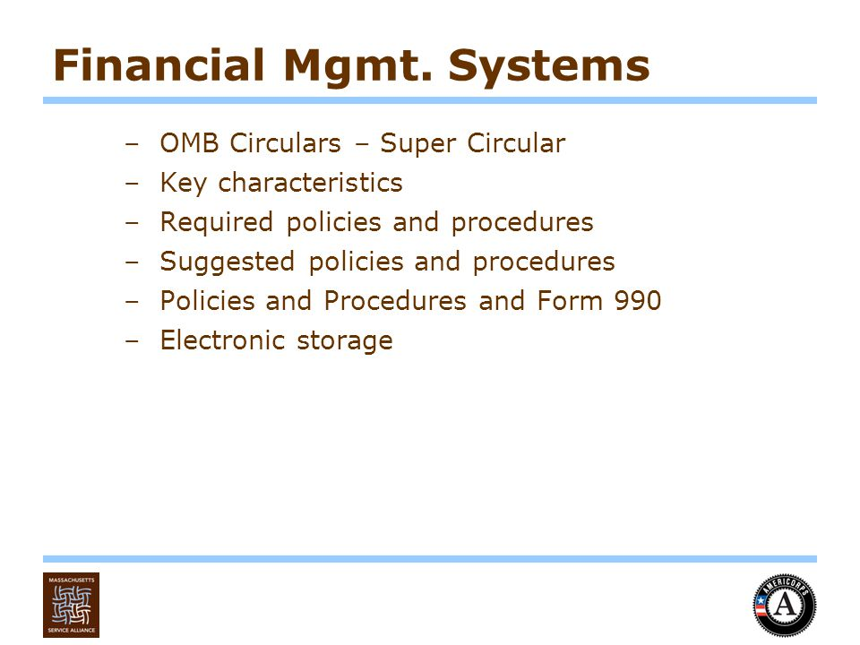 Financial Mgmt.