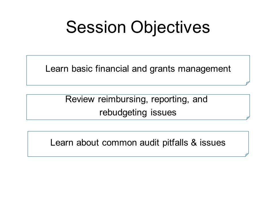 1.Regulations & Requirements 2. Financial Management Principles 3.