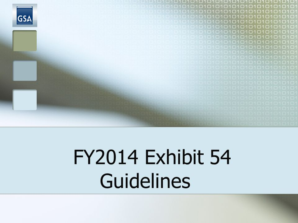 2 Exhibit 54: PURPOSE Tool used for assisting agencies in completing their Space Budget Justifications Basis for Annual Rent Payments PY : Current GSA Rent Bill + Anticipated Inventory Changes.