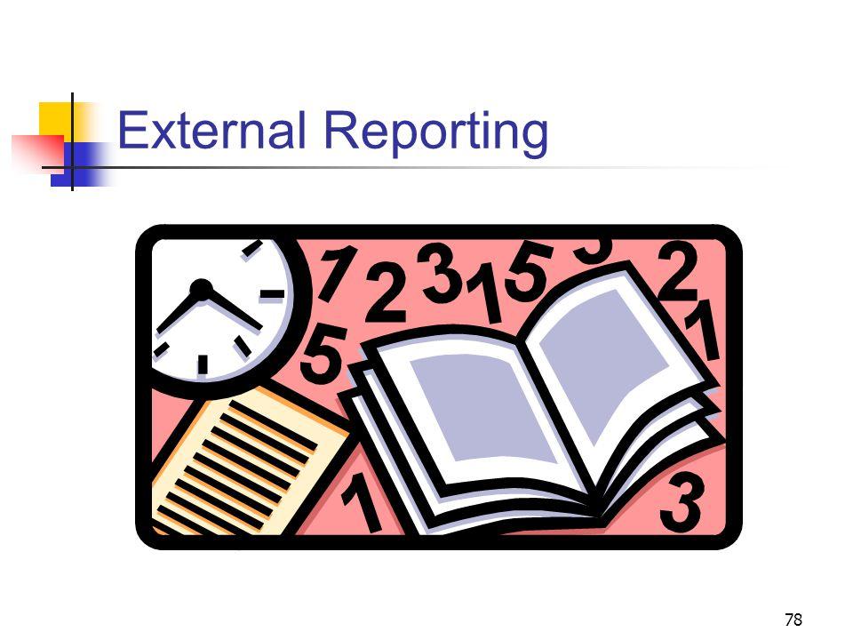 78 External Reporting
