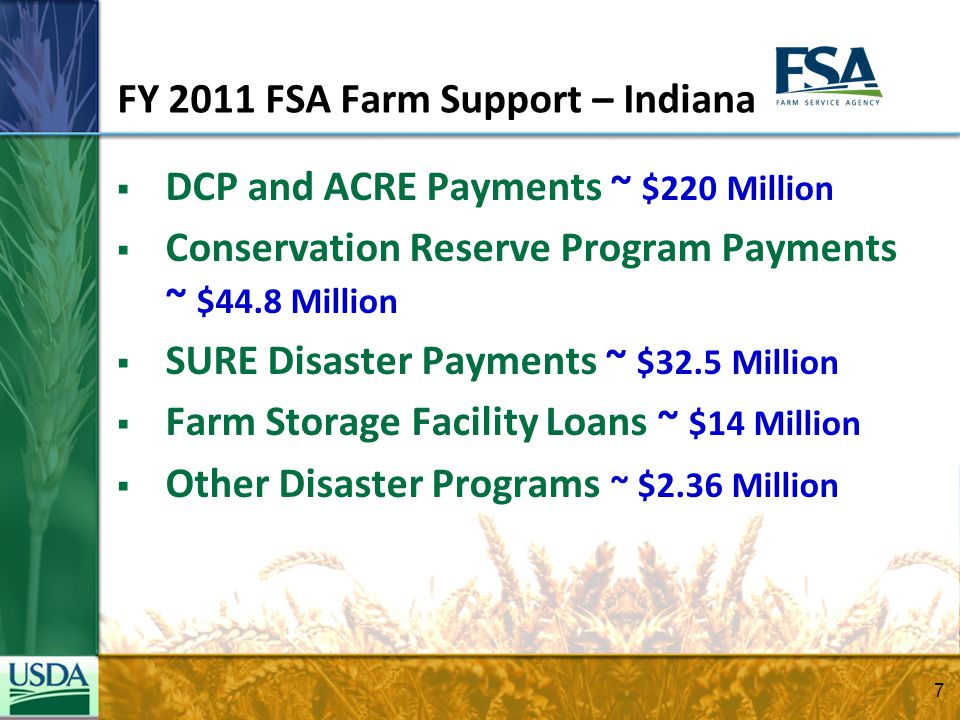 Farm Loan Programs (FLP) The Farm Service Agency makes and guarantees loans and provides credit counseling and supervision to farmers and ranchers who are temporarily unable to obtain private, commercial credit.
