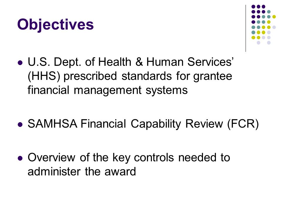 High Risk High risk grantees must request approval of allowable expenditures via SF 270 prior to drawdown from Payment Management When the required corrective action is satisfied, SAMHSA will promptly remove high risk designation & account restriction.