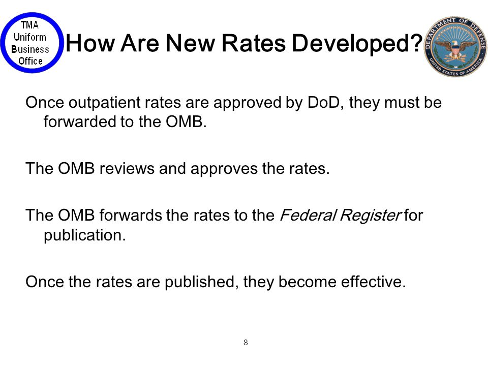 8 How Are New Rates Developed.