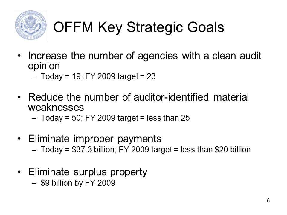 17 FMLOB Framework Results Improved performance of financial system solutions (agency and govt.-wide) -- timely & accurate data for decisions; lower risk and cost; improved stewardship and accounting Competitive Environment Standardization A limited number of high performing and stable shared service providers that offer competitive alternative for Federal agencies Performance Measures Standard quality and cost measures for agencies to benchmark and compare performance of financial system alternatives Transparency Seamless Data Integration Financial data easily compared and aggregated across agencies; reduced cost and risk of establishing interfaces between agency business systems Migration Planning Guidance Menu of services offered by COEs; rules of engagement; comparing public vs.