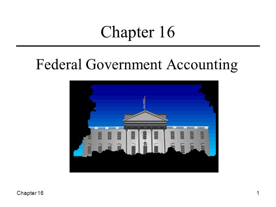 Chapter 161 Federal Government Accounting