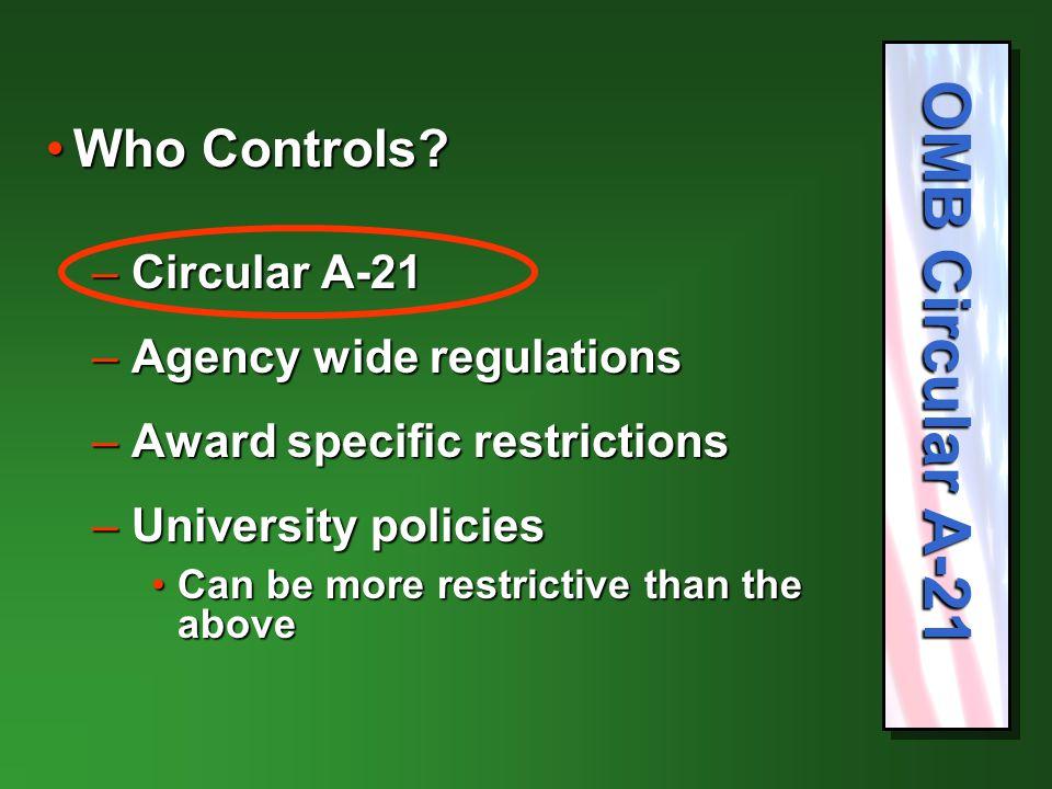 Who Controls Who Controls.