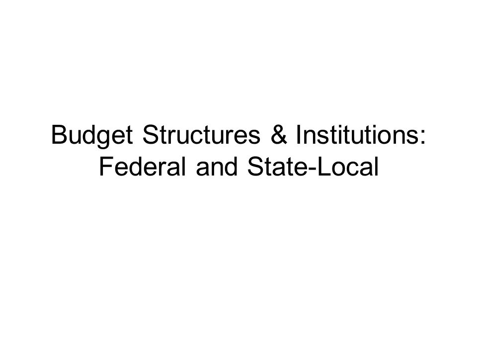The Federal Budget Spending by the Federal Government Page 81- Federal Outlays by Function 20% for national defense 64% for human resources 5% for physical resources 8% interest payments 3% other