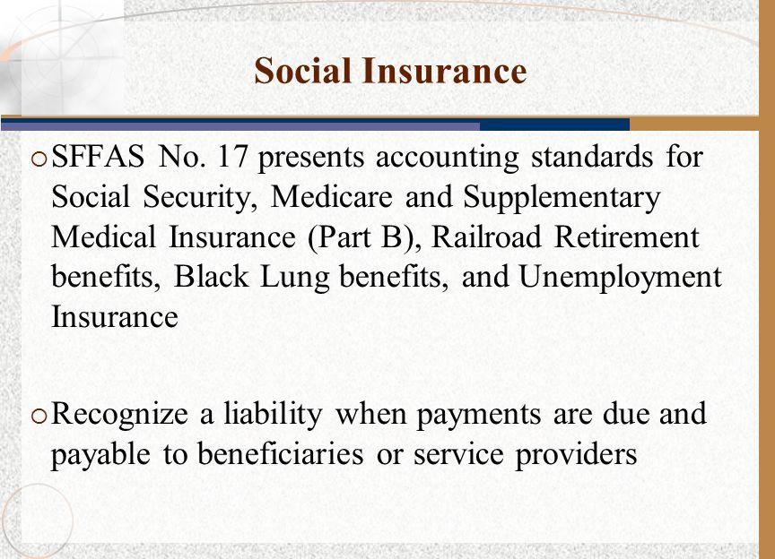 Social Insurance  SFFAS No.