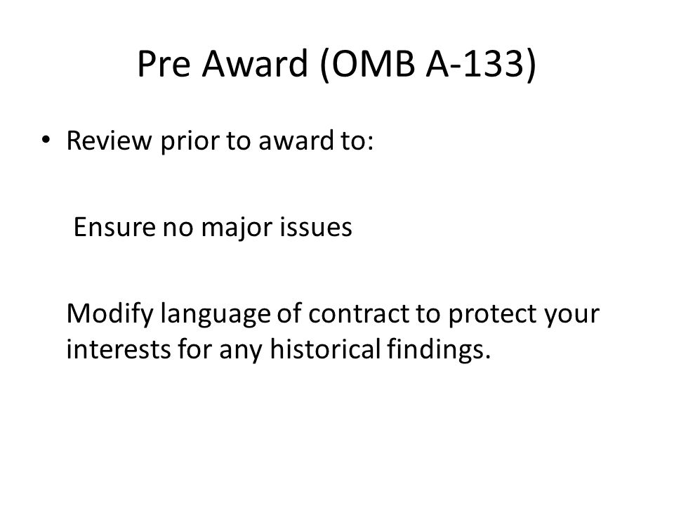 Pre Award (Rate Agreements) Most commonly include 3 types of rates http://researchadmin.asu.edu/files/F%20and%20A%20Rate%20Calculation%20and%20Agreement%20Overview.pdf Predetermined/Fixed Provisional Finalized