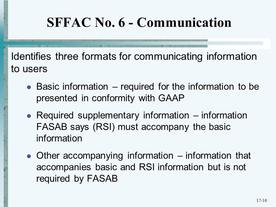 SFFAC No.