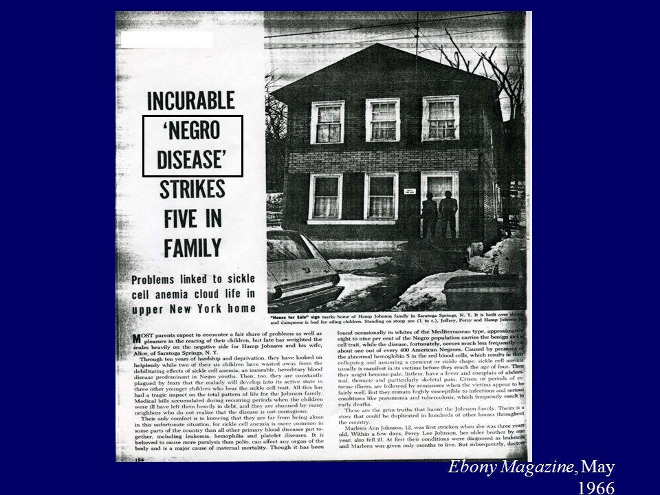 Ebony Magazine, May 1966