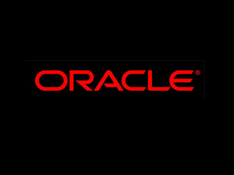 Reminder – please complete the OracleWorld online session survey Thank you.