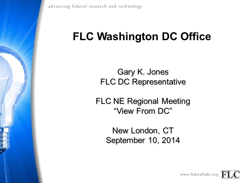 FLC Washington DC Office Gary K.