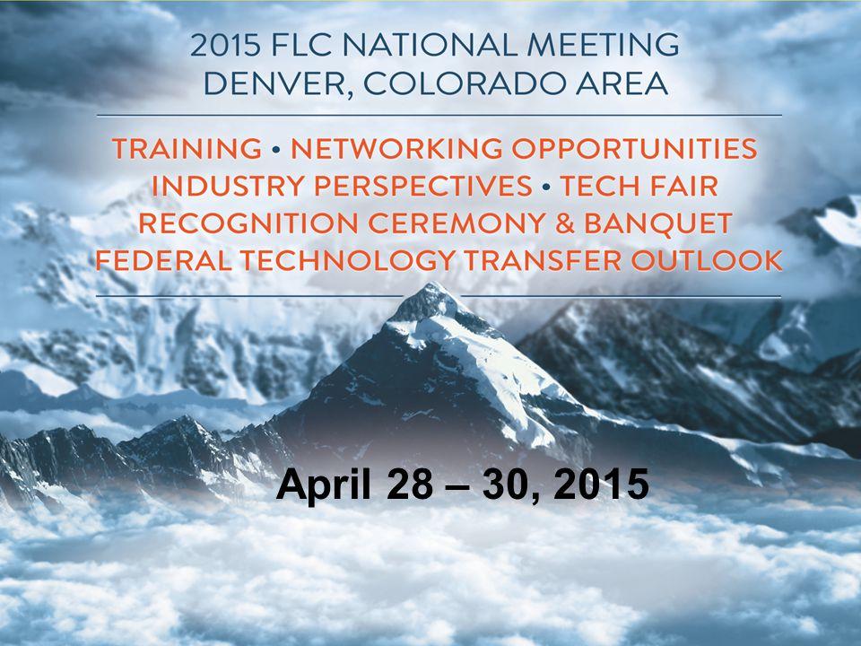 April 28 – 30, 2015