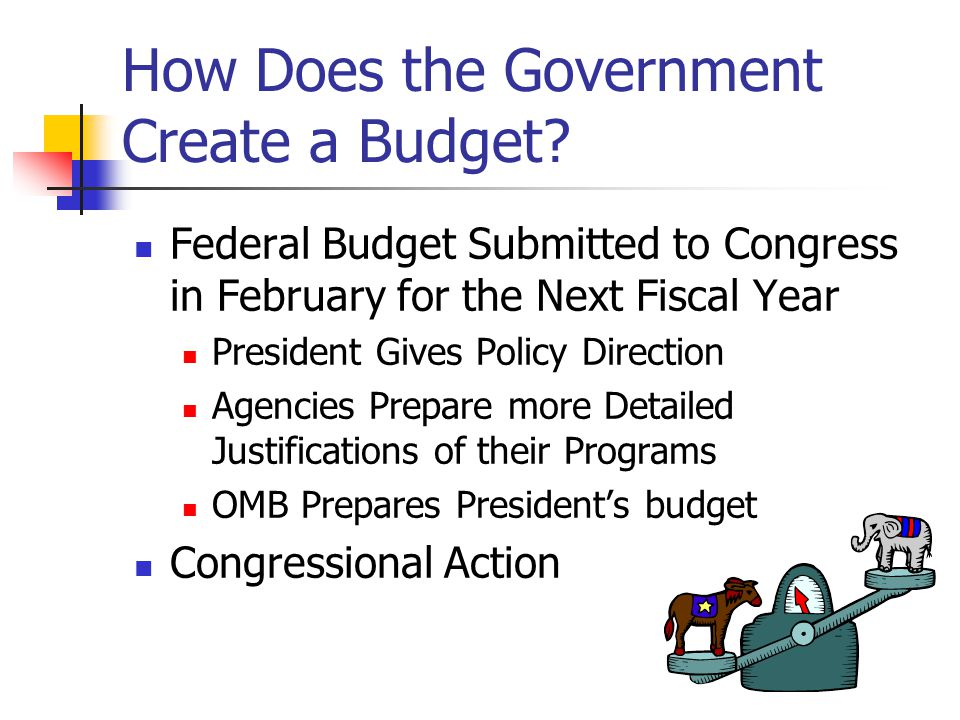 How Does the Government Create a Budget.