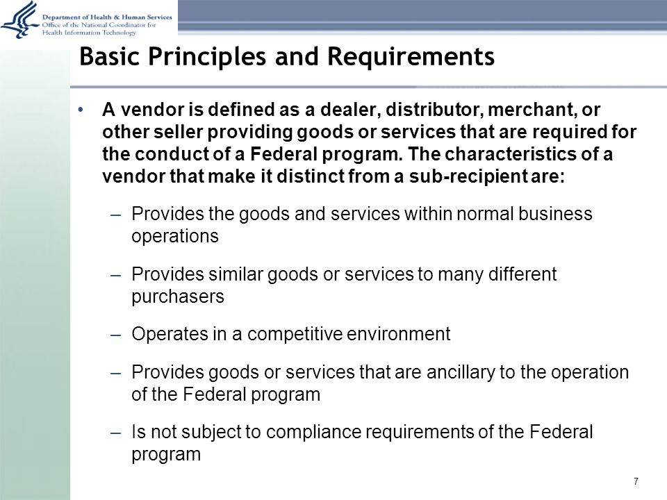 Basic Principles and Requirements General exceptions to 1512 reporting include: Mandatory programs Programs providing awards to individuals (unless the individual is a sole proprietor) Awards under $25,000 8
