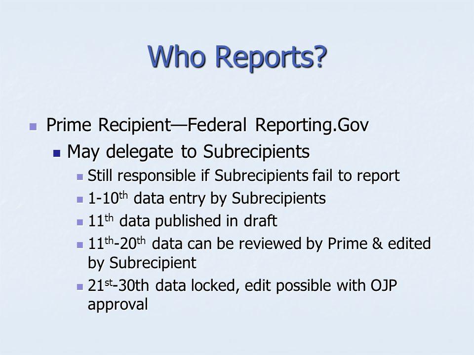 How Report.