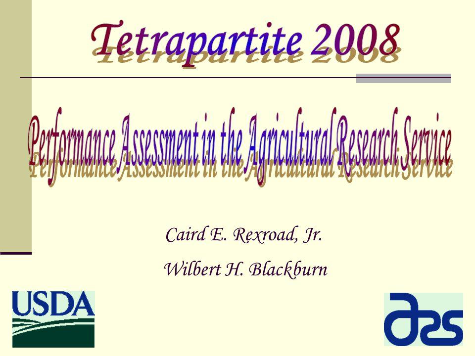 Caird E. Rexroad, Jr. Wilbert H. Blackburn