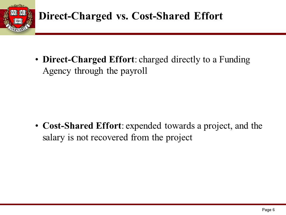 Page 6 Direct-Charged vs.