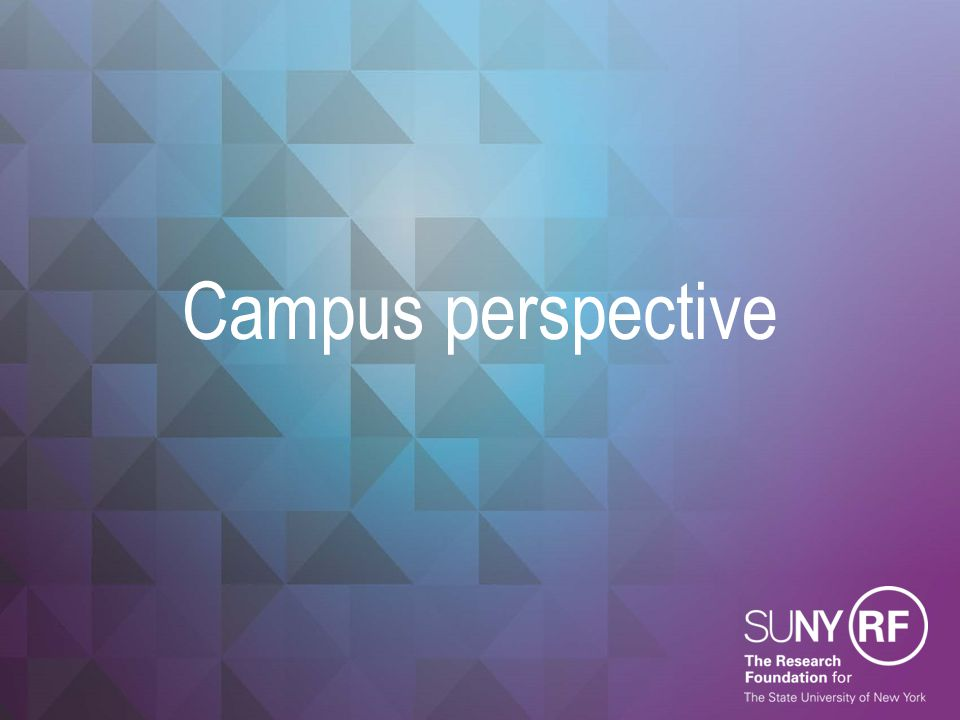 Campus perspective