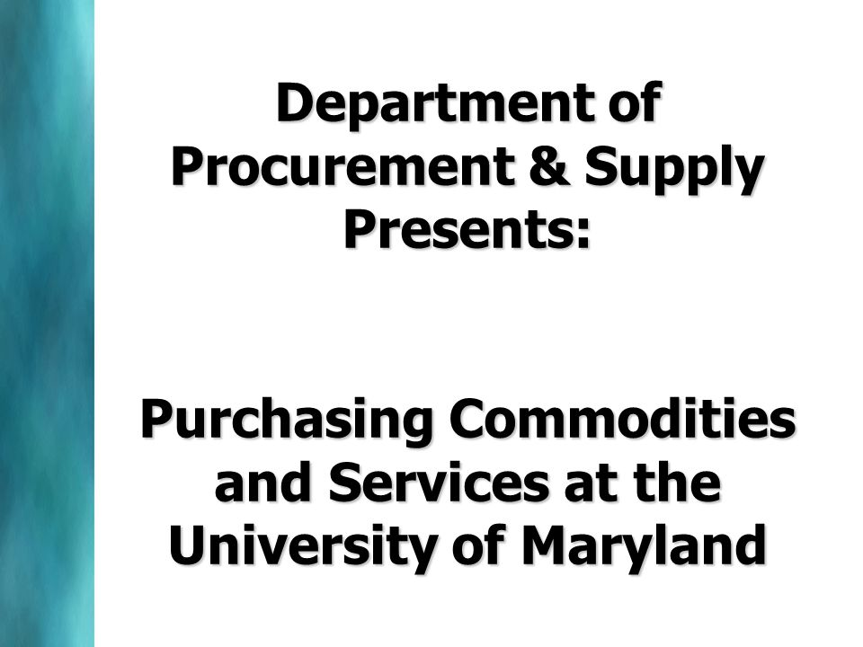 Special Approvals All purchases using Bond Funds require prior approval of the MD Board of Public Works –Who.