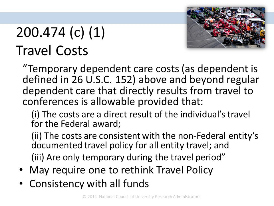 Temporary dependent care costs (as dependent is defined in 26 U.S.C.
