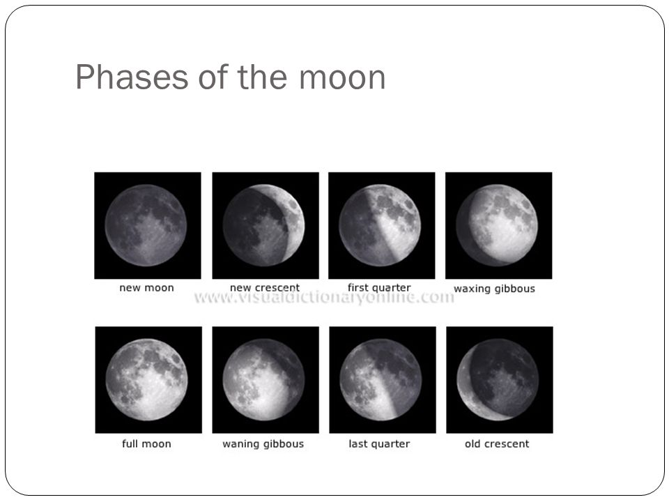 Phases of the moon 10