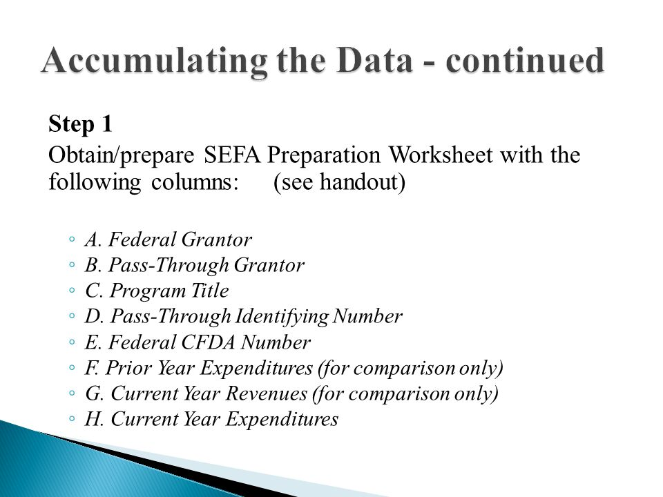  Amounts reported in the SEFA did not reconcile to financial records (i.e.
