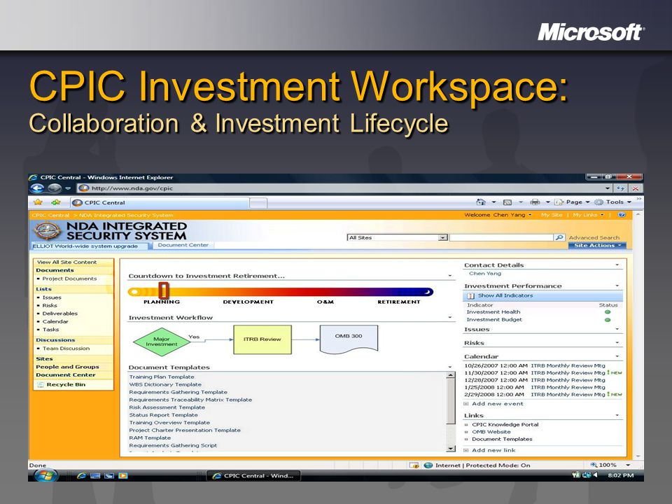 CPIC Investment Workspace: Collaboration & Investment Lifecycle