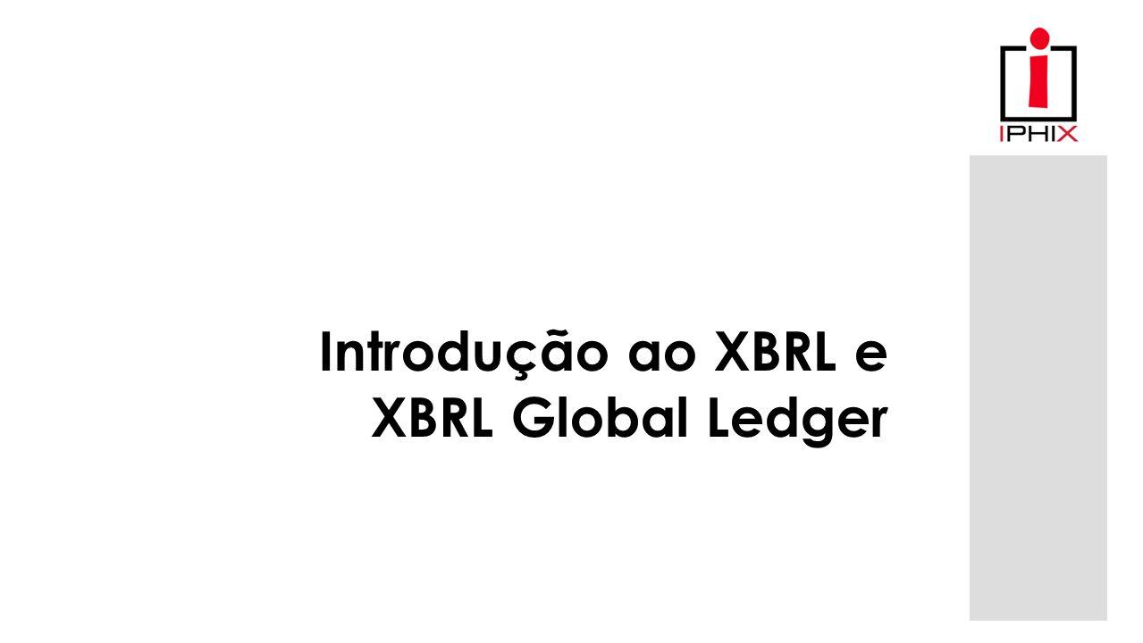 Introdução ao XBRL e XBRL Global Ledger