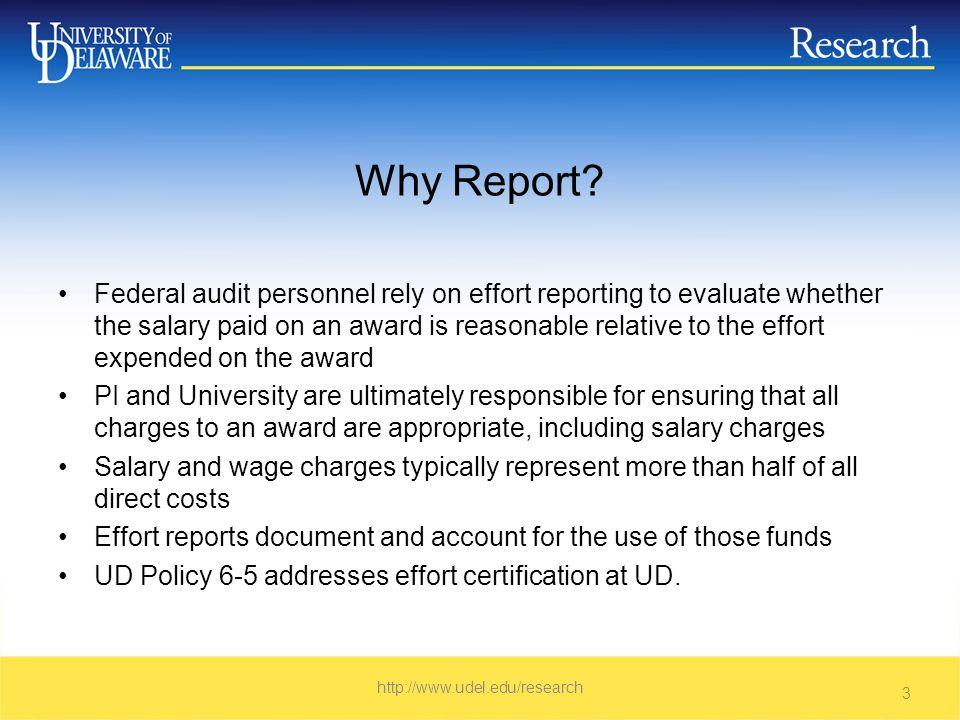 Proposal Budget Detail http://www.udel.edu/research 14
