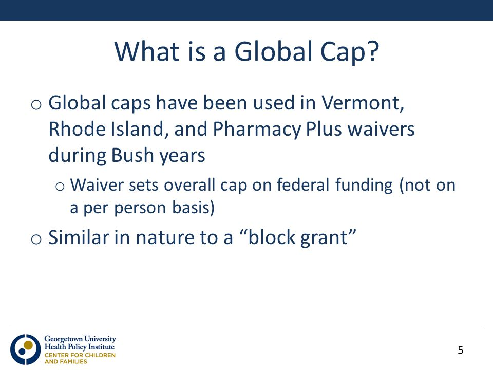 What is a Global Cap.