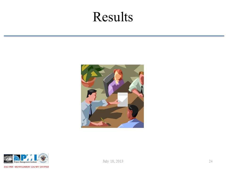 Results July 18, 201324
