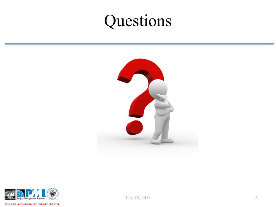 Questions July 18, 201325