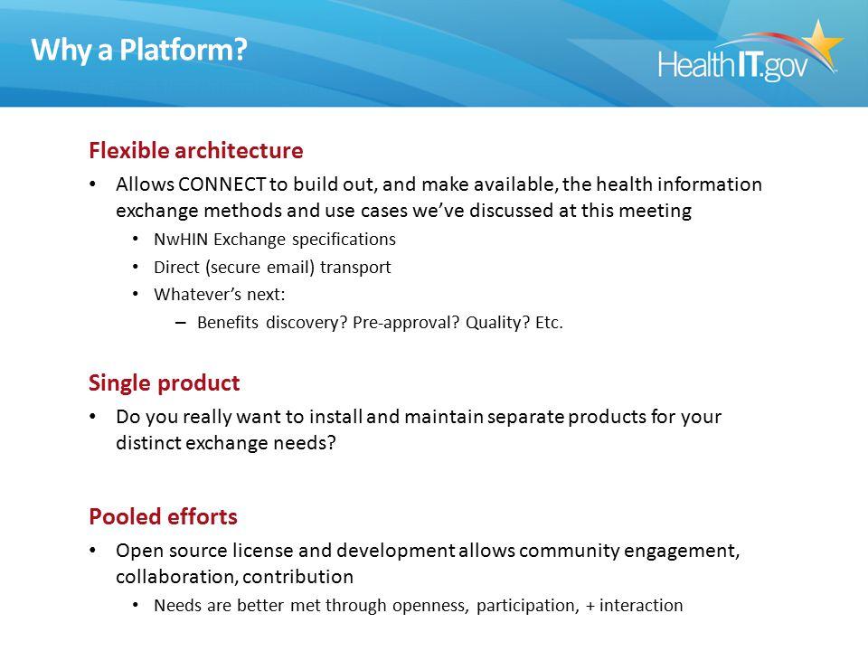 Why a Platform.