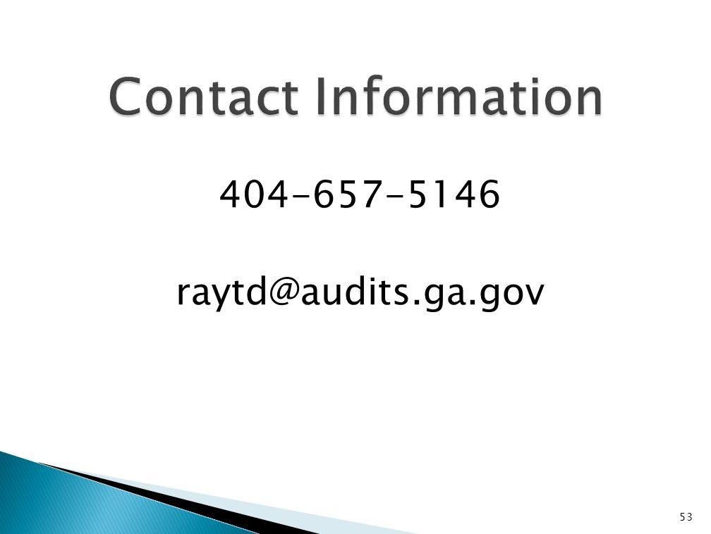 53 404-657-5146 raytd@audits.ga.gov