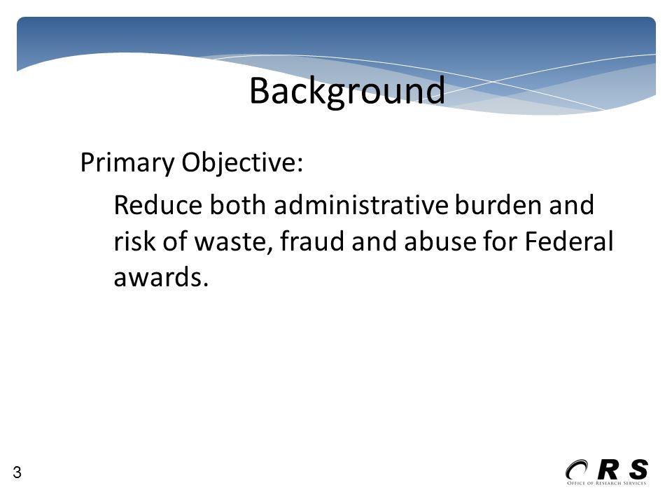 Background – Reform Timeline 4