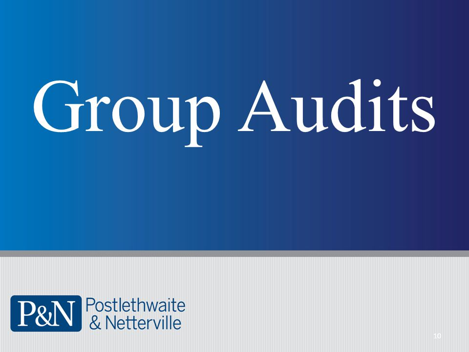 Group Audits 10