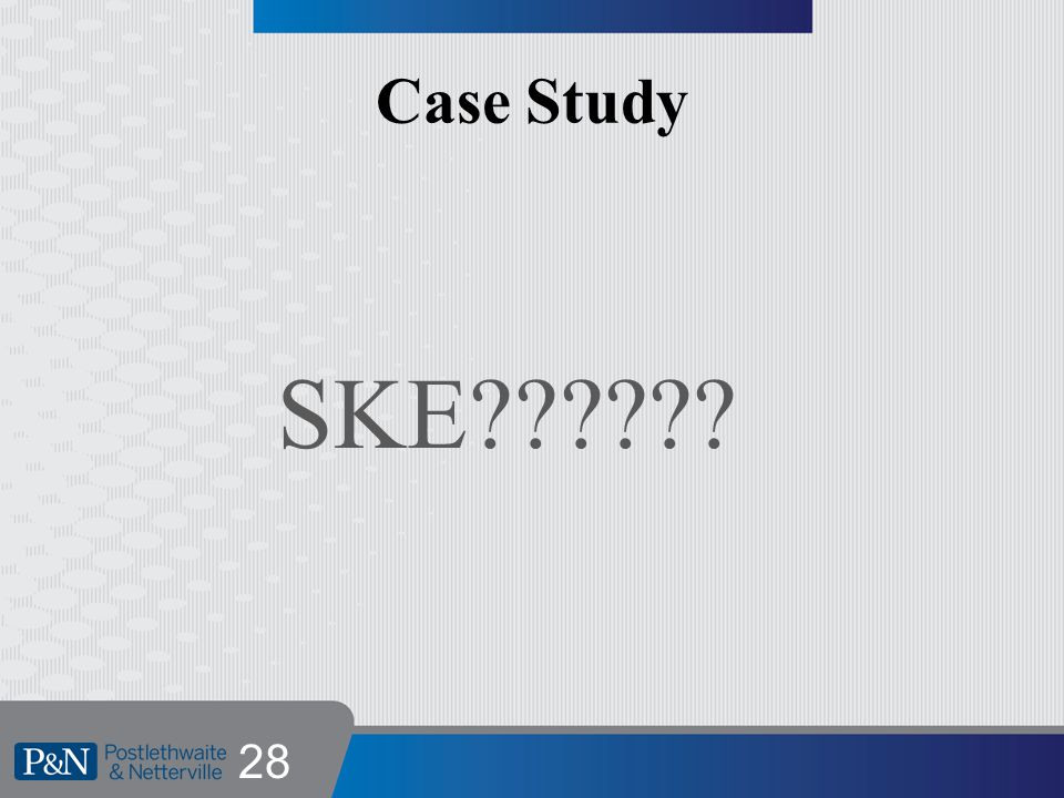 Case Study SKE 28